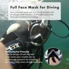 Anti Fog Full Face Mask Panoramic View Swimming Breath Dry Diving Goggle Snorkel