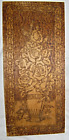 Flemish Art Co. Quality Wood Burned Pyrography Wall Plaque Roses