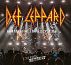 Def Leppard - And There Will Be A Next Time Live From Detroit 2xCD + DVD sealed