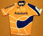 Rabobank Cycling Jersey by AGU Colnago Size Mens Large