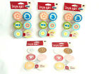 Lot of 5 Sticko Inspirables Token Stickers Feminine  Day at The Beach