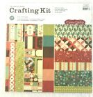 Cosmo Cricket Nutmeg 12x12 Paper Crafting Kit Cardstock Embellishments NEW