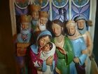 Jim Shore The Light of The World Nativity Cathedral Window Figurine Christma