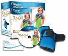 Weight Watchers Punch Fitness Blue Weighted Gloves DVD  Exercise Tracker
