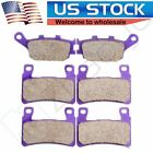 F+R Carbon fiber Brake Pads for 2001-2006 2002 2003  Honda CBR 600 F4i Sport