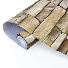 10M 3D Wallpaper Bedroom Mural Modern Stone Brick Wall Paper Background Textured