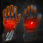 2XL Electric Heated Gloves Outdoor Winter Warm Rechargeable Battery Touchscreen