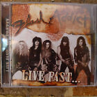 Flash Addict - Live Fast... Die Pretty CD (OOP, Rare, Suncity Records)