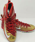 PSA DNA SF 49er #85 GEORGE KITTLE Signed Autographed NIKE Football Cleats