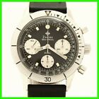 VINTAGE ZODIAC VALJOUX 72 CHRONOGRAPH STAINLESS STEEL MENS WATCH