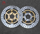 Floating Front Brake Disc Rotor Fit For Kawasaki GTR1000 ZG1000 Concours GPZ1100