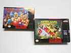 SUPER PUNCH OUT + MICKEY MANIATHE TIMELESS ADVENTURE EMPTY BOXES LOT