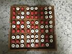 Antique Wood Peg Board Game