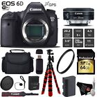 Canon EOS 6D DSLR Camera with 24mm f/2.8 STM Lens + Wireless Remote Bundle3