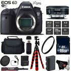 Canon EOS 6D DSLR Camera with 24mm f/2.8 STM Lens + Wireless Remote Bundle