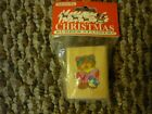 Noteworthy Christmas Rubber Stampers Bear Bird Singing Stamp