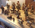 HUGE LOT VINTAGE FONTANINI NATIVITY DEPOSE ITALY CHRISTMAS FIGURINE 25 PIECES