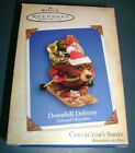 Hallmark Ornament Downhill Delivery Nick and Christopher Collectors Series