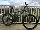 Used Giant AC2 Full Suspension Mountain Bike sizs Medium Large 18 in great cond