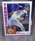 2019 Topps Series 1 Silver Pack 1984 Chrome Refractor 1 DON MATTINGLY Yankees
