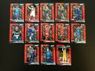 2018 19 Panini Prizm Basketball Red Ice Prizm 13 Card Lot ALL ROOKIES MINT