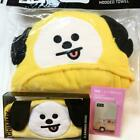bt21CHIMMY hair band hooded towel Olive Young BTS