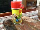 Vintage 1964 Popeye Thermos Bottle 2882 King Seeley