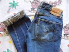 VTG 60s Levis Big E 501A Jeans 30x36 actually 27x32 Redline Selvedge Denim 66