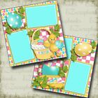 Duckys Baskey EASTER Premade Scrapbook Pages EZ Layout 3738