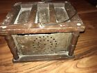 Antique/Early Foot Warmer, Classic Design;Original Condition; early to mid-1800s