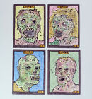 Zombie Token Cards x4 Printed Creature Tokens Altered MTG Magic Black Playset
