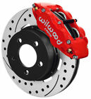 Wilwood Disc Brake KitFront84 89 Jeep12 Drilled RotorsRed CalipersYj