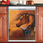 Country Decor Kitchen Dishwasher Magnet Beautiful Native Horse 6
