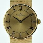Baume & Mercier, Mens, 14K Solid Gold, Ref No 55121, Manual Winding, 66.20 grams