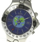 EBEL GMT E9122641 Sports Wave Meridian Automatic Blue 39mm Men's Wristwatch used