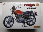Aoshima 1:12 Scale Honda CB400T Hawk ll Model Kit - New # 048344-2400