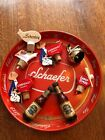 vintage beer tray and pourers - Schaefer, pabst, coronet
