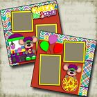 CHEEZY FUN 2 Premade Scrapbook Pages EZ Layout 3446