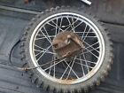 SUZUKI RM50 / RM 60 / FRONT WHEEL ASSEMBLY / FRONT HUB BRAKE AND RIM ASSEMBLY