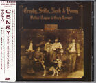 Crosby, Stills, Nash & Young Deja Vu 1985 Japan CD 1st Press With Sticker Obi