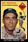 Top 10 Gil Hodges Baseball Cards 21