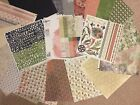BASIC GREY retired BOXER 17 Scrapbook Papers  Alphabet  Stickers