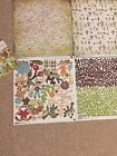 BASIC GREY retired MELLOW 2 Scrapbook Papers  Alphabet  Stickers  2 +
