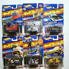 Bandai Charawheels Miniature Cars Set of 6 Mattel Hot Wheels New old stock