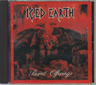 ICED EARTH / BURNT OFFERINGS JAPAN CD OOP