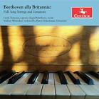 Beethoven alla Brittania: Folk Song Settings and Variations [CD]