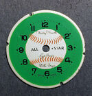 Vintage Bradley Mickey Mantle All Star Baseball Character Watch Dial for Parts