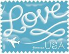 100 USPS 2017 Love Skywriting Forever Stamps First Class Postage Stamp