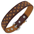 Designer Inspired Dog Collar in size XS Small Medium Large Waterproof Strong