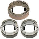 for Suzuki LT-Z90 Quadsport Z90 2007 2008 2009 Front and Rear Brake Shoes
